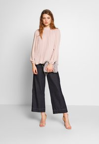 New Look - PLAIN  PLEATED TIE BACK - Blouse - pale pink - 1