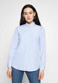 New Look - HARVEY STRIPE SHIRT - Košile - blue - 0