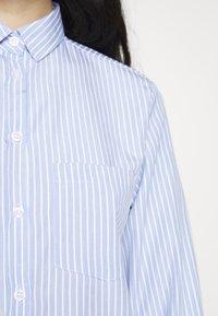New Look - HARVEY STRIPE SHIRT - Košile - blue - 4