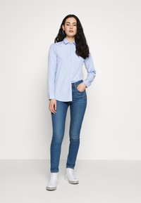New Look - HARVEY STRIPE SHIRT - Košile - blue - 1