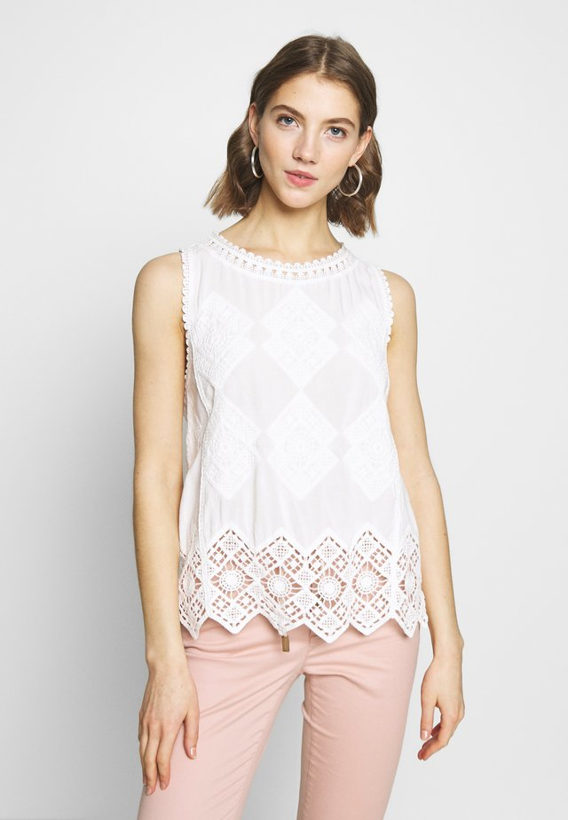 LOIS SHELL - Bluse - white