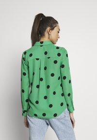 New Look - SPOT SHIRT - Button-down blouse - green - 2