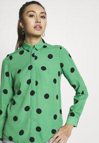 New Look - SPOT SHIRT - Button-down blouse - green - 3