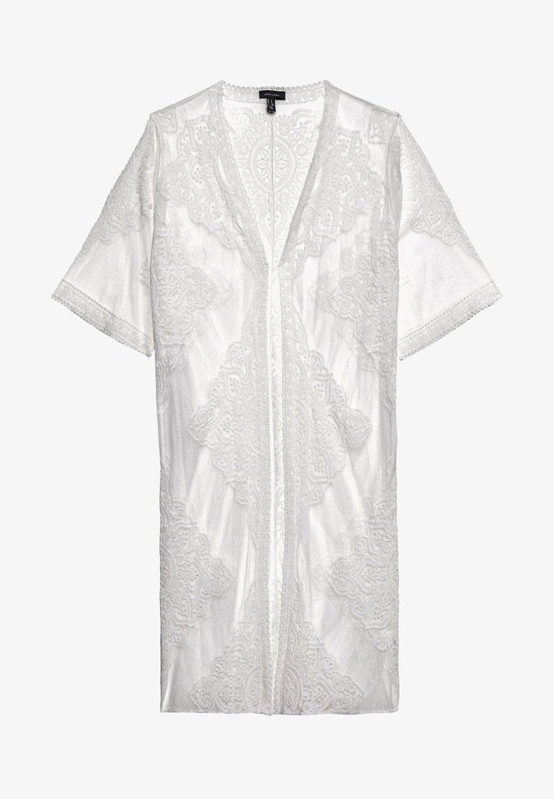New Look - MADDIE KIMONO - Veste légère - white