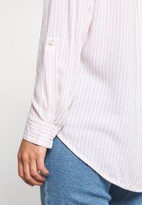 New Look - REX STRIPE - Button-down blouse - white - 5