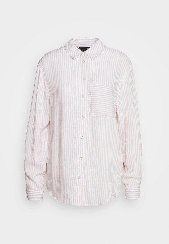 REX STRIPE - Košile - white