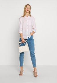 New Look - REX STRIPE - Button-down blouse - white - 1