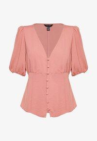 New Look - TEA BLOUSE - Pusero - mid pink - 0