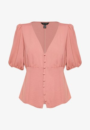 TEA BLOUSE - Blus - mid pink