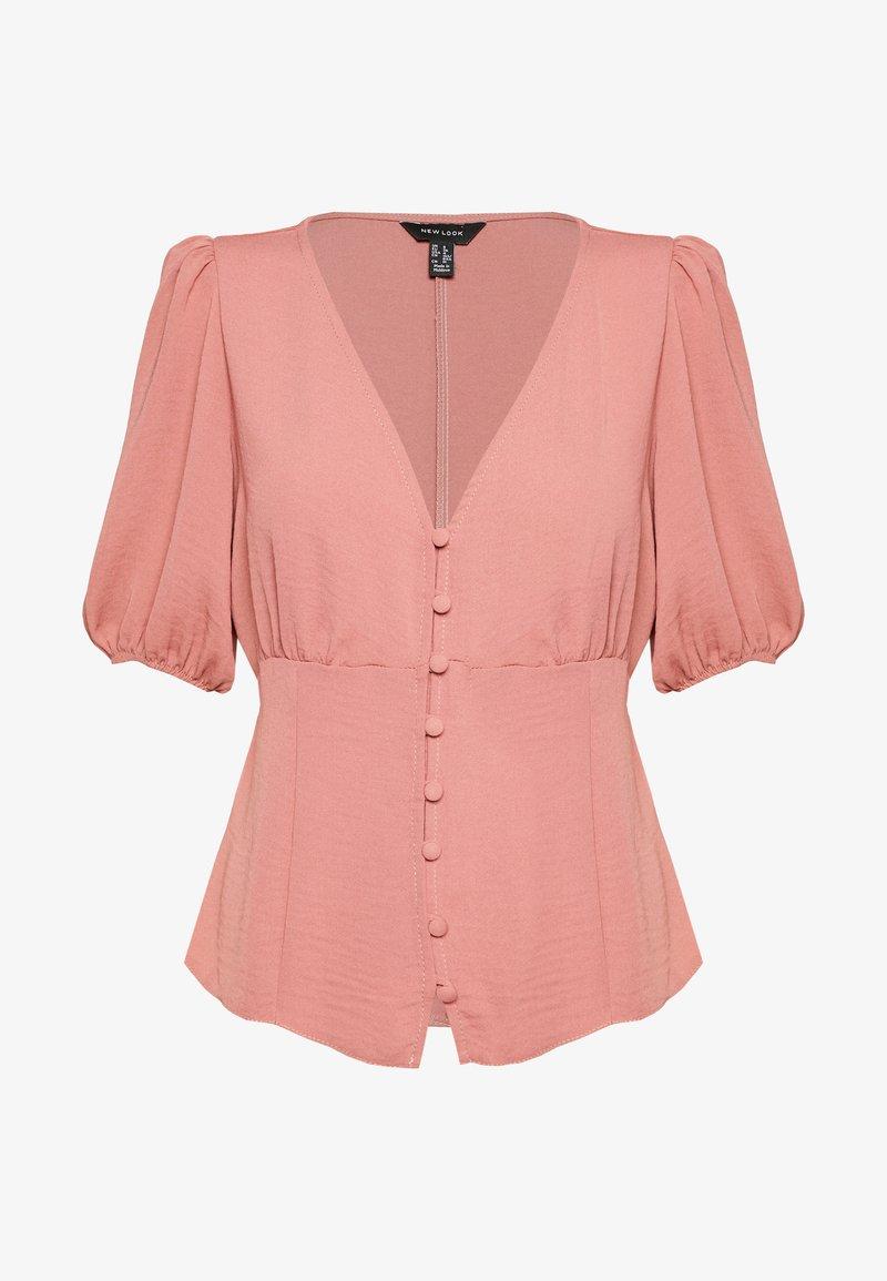 New Look - TEA BLOUSE - Pusero - mid pink