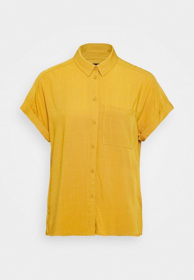 JAKE - Button-down blouse - yellow