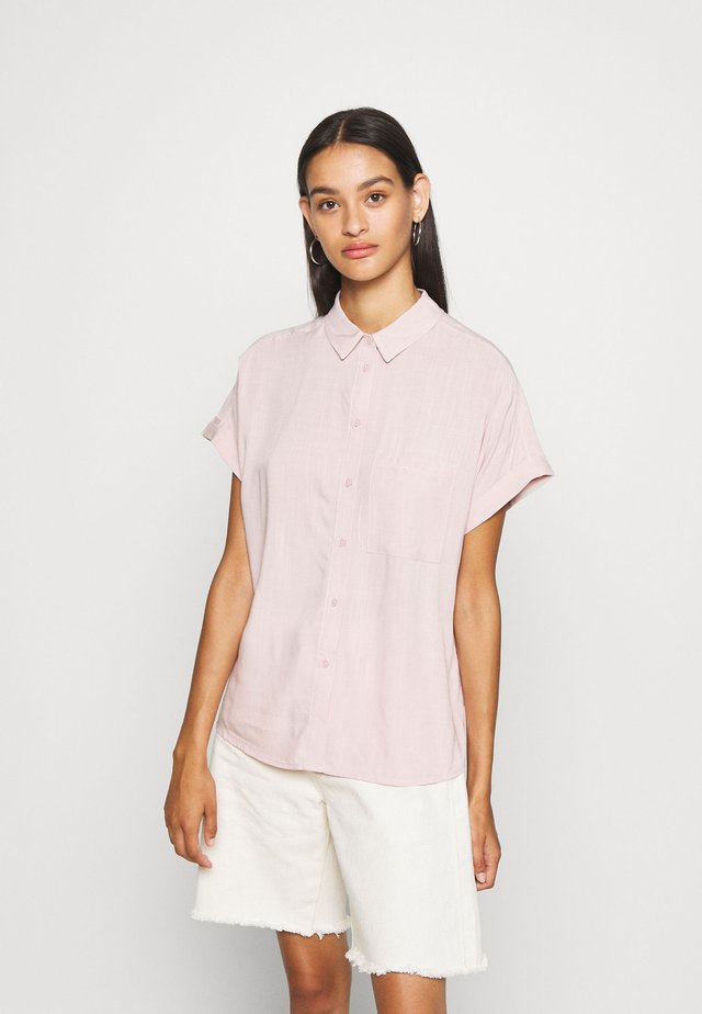 JAKE - Button-down blouse - mid pink