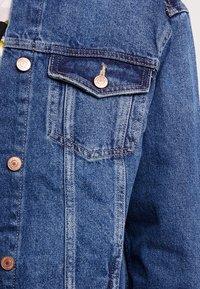 New Look - JACKET PEACHY - Spijkerjas - mid blue - 5