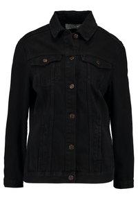 New Look - JACKET PEACHY - Veste en jean - black - 4