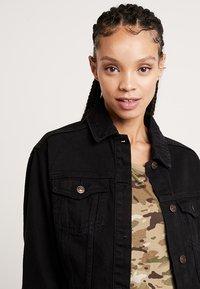 New Look - JACKET PEACHY - Veste en jean - black - 3