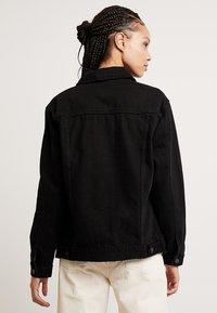 New Look - JACKET PEACHY - Veste en jean - black - 2