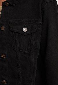 New Look - JACKET PEACHY - Veste en jean - black - 5