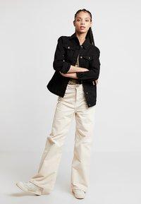 New Look - JACKET PEACHY - Veste en jean - black - 1