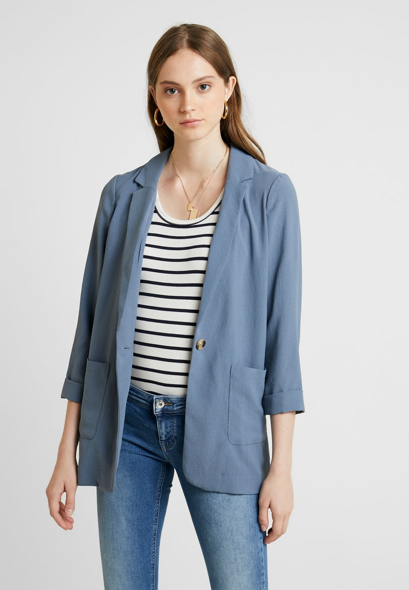 New Look - TAMSIN TEXTURE - Blazer - navy