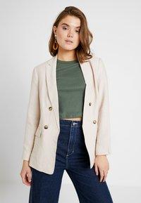 New Look - JANE - Blazer - stone - 0