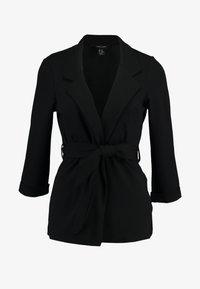New Look - BELTED - Blazer - black - 4