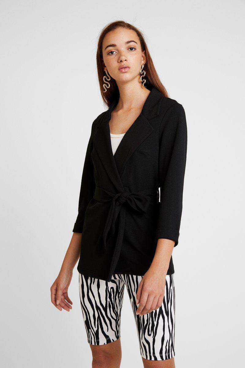 New Look - BELTED - Blazer - black
