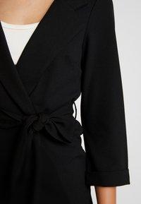 New Look - BELTED - Blazer - black - 5