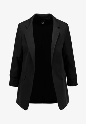 SIENNA RUCHED SLEEVE - Blazer - black