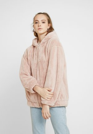 FRANKIE HOODED - Giacca invernale - light pink