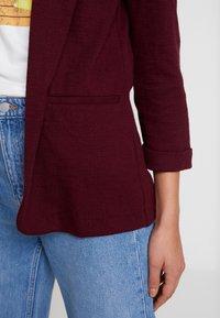 New Look - CROSS STRETCH - Blazer - dark burgundy - 5