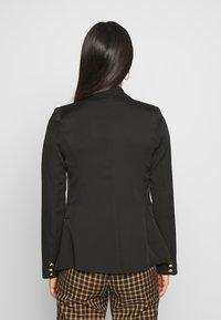 New Look - UTILITY BUTTON - Blazer - black - 2