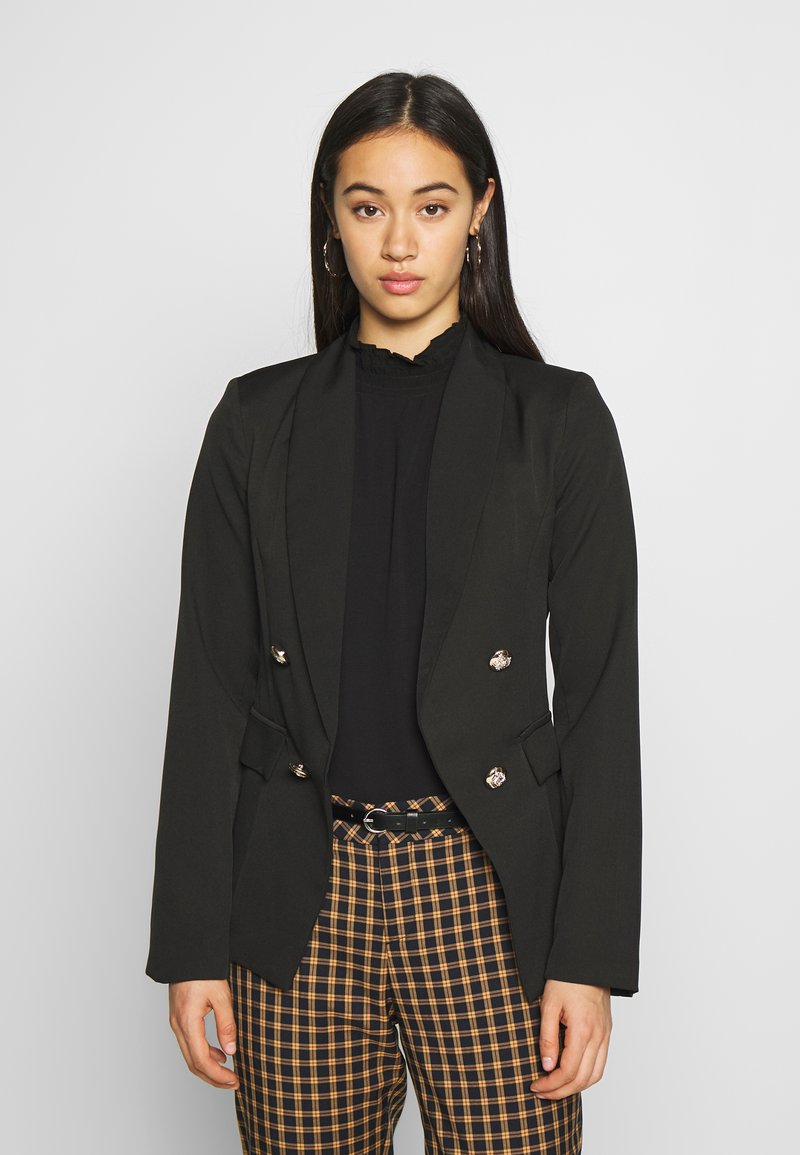 New Look - UTILITY BUTTON - Blazer - black