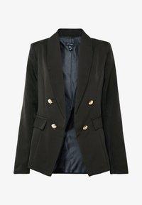 New Look - UTILITY BUTTON - Blazer - black - 3