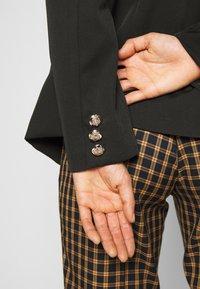 New Look - UTILITY BUTTON - Blazer - black - 4