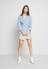 New Look - Blazer - light blue - 1