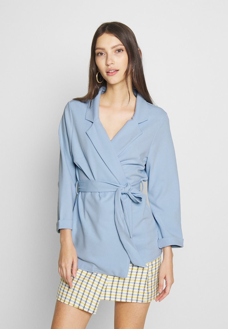 New Look - Blazer - light blue