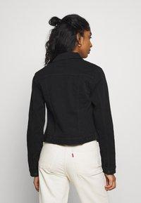 New Look - ELLIOT LEAD IN JACKET - Denim jacket - black - 2