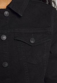 New Look - ELLIOT LEAD IN JACKET - Denim jacket - black - 4