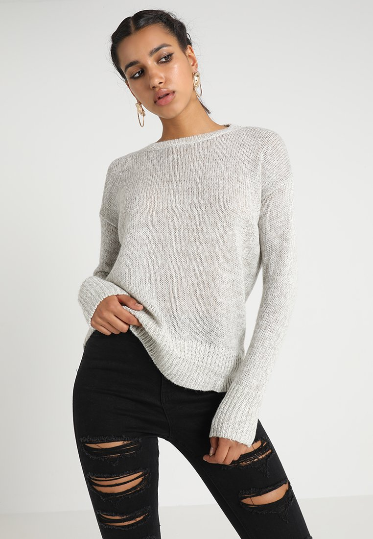 New Look - LEAD IN  - Strickpullover - grey