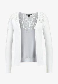 New Look - YOKE CARDI - Chaqueta de punto - white - 3