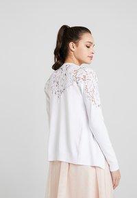 New Look - YOKE CARDI - Chaqueta de punto - white - 2