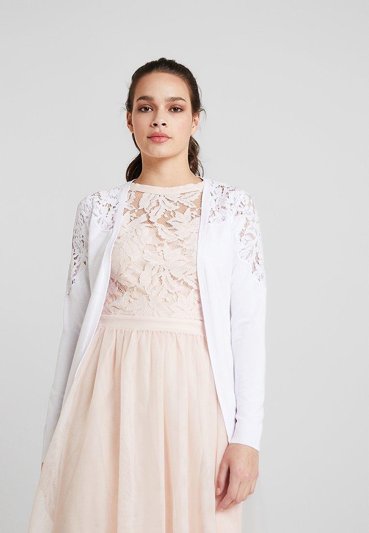 New Look - YOKE CARDI - Chaqueta de punto - white
