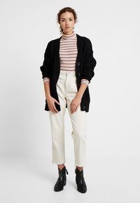 New Look - BOYFRIEND CARDI - Cardigan - black - 1