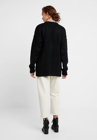 New Look - BOYFRIEND CARDI - Cardigan - black - 2