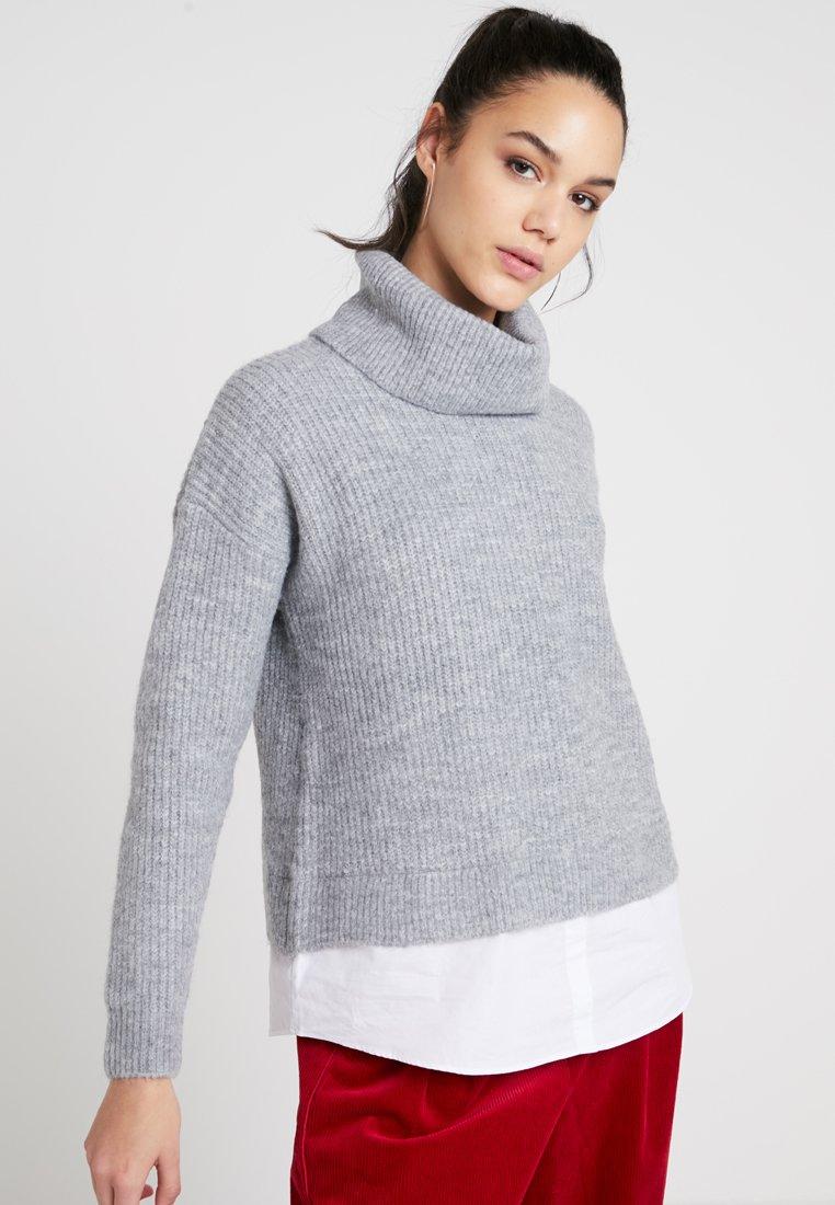 New Look - JUMPER - Strickpullover - light grey
