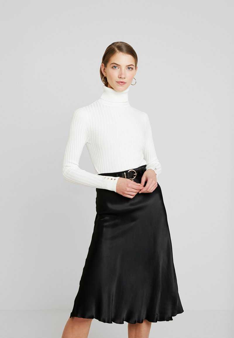 New Look - ROLL - Strikkegenser - off white