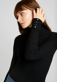 New Look - ROLL - Maglione - black - 4