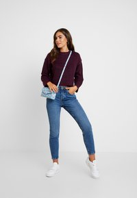 New Look - BOXY STRAIGHT SLEEVE - Maglione - burgundy - 1