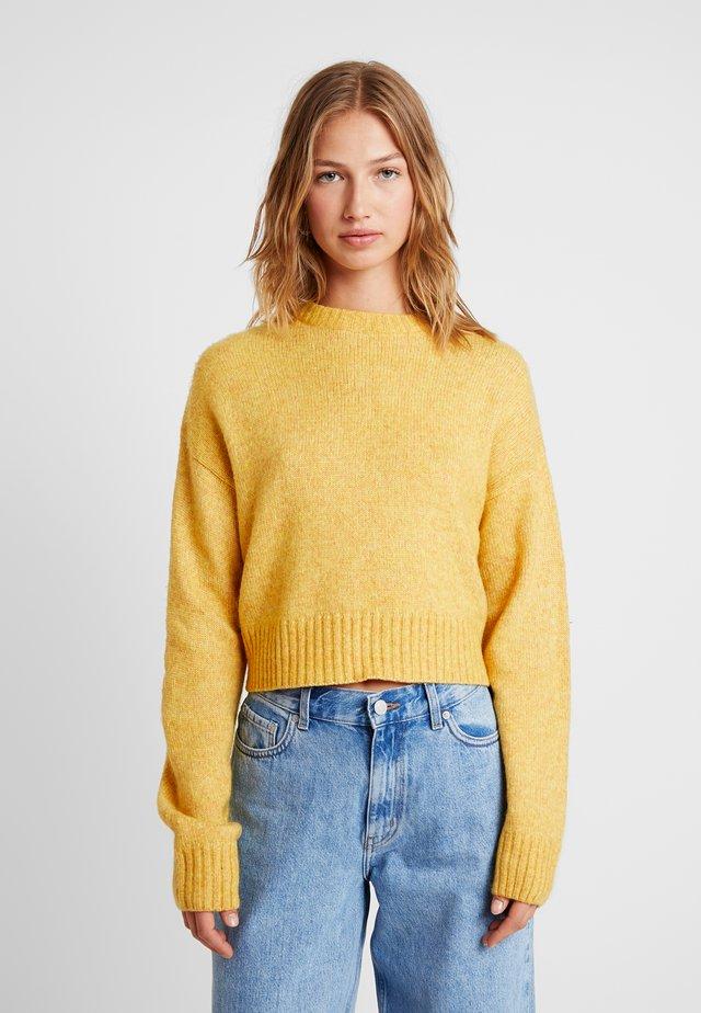 Trui - mustard