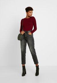 New Look - CREW - Sweter - dark burgundy - 1
